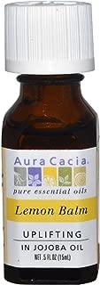 Aura Cacia Essential Oil, Lemon Balm, 0.5 oz