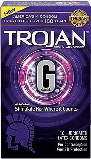 Trojan G. Spot Premium Lubricated Condoms – 10 count