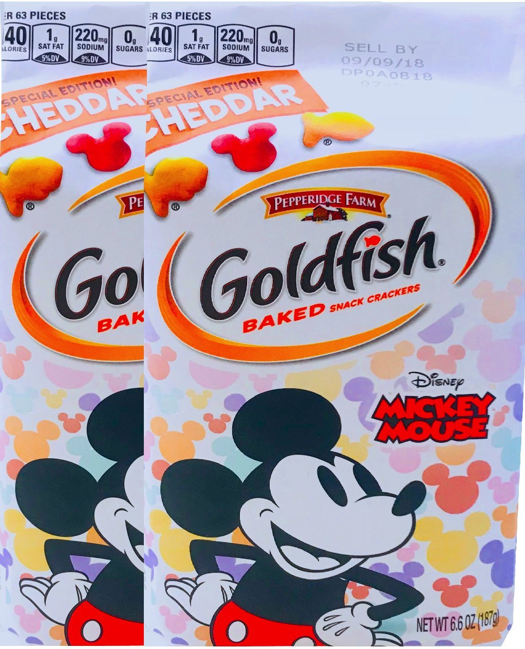 NEW Pepperidge Topics on TV Farm Goldfish Baked Micke Outstanding Cheddar Edition Special