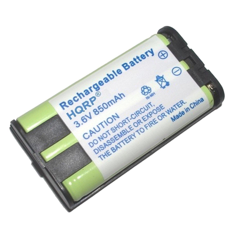 HQRP Batería para Panasonic HHR-P104 / HHR-P104A / Type 29 / KX-FG6550 / KX-FPG378 / KX-FPG379 / KX-FPG391 / KX-TG5055 / KX-TG5200 Teléfono inalámbrico + HQRP Posavasos: Amazon.es: Electrónica