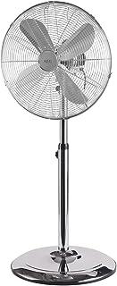 AEG 520031, Ventilador de pie oscilante con cuerpo metálico estilo retro, 40 cm, 50 W