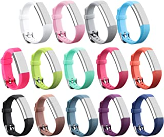 I-SMILE for Fitbit Alta HR and Alta Bands, Colorful Adjustable Replacement Wristband for Fitbit Alta HR/Fitbit Alta Bands(No Tracker, Replacement Only