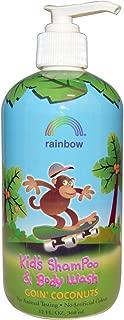 Rainbow Research, Kids Shampoo and Body Wash Goin Coconuts, 12 Fl Oz