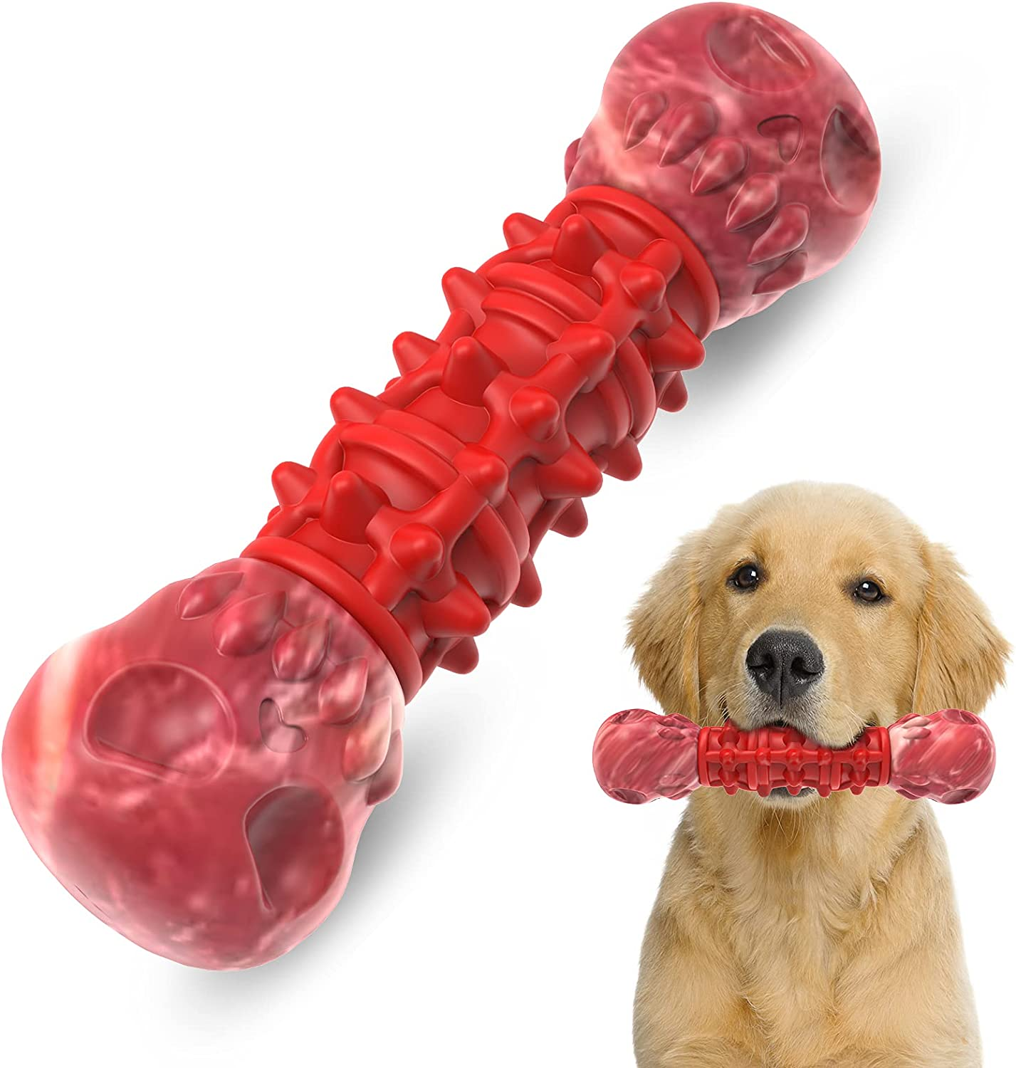 CHAFIN Ranking TOP7 Durable Natural Rubber Dog Aggressive Chew Toys for Chewe Don't miss the campaign