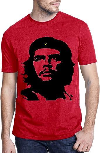 Che Guevara Camiseta de color rojo de la tienda Hombres Classic Alberto Korda imagen Che camisetas