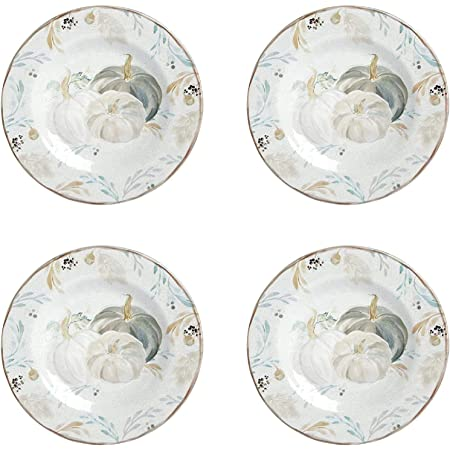 Amazon Com Cuthbertson Turkey Salad Plate 8 1 4 Set Of 4 Salad Plates