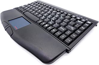 SolidTek Mini Keyboard with Touchpad USB Interface Black KB-540BU (ACK-540U)