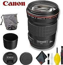 Canon EF 135mm f/2L USM Lens (International Model) Basic Bundle