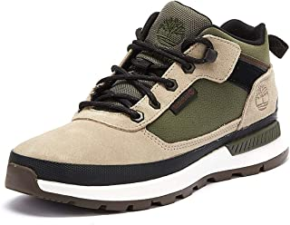 Timberland Field Trekker Low Mens Taupe/Green Boots
