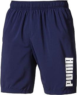 """PUMA Men's Ess Woven Shorts 8"""", Peacoat"""
