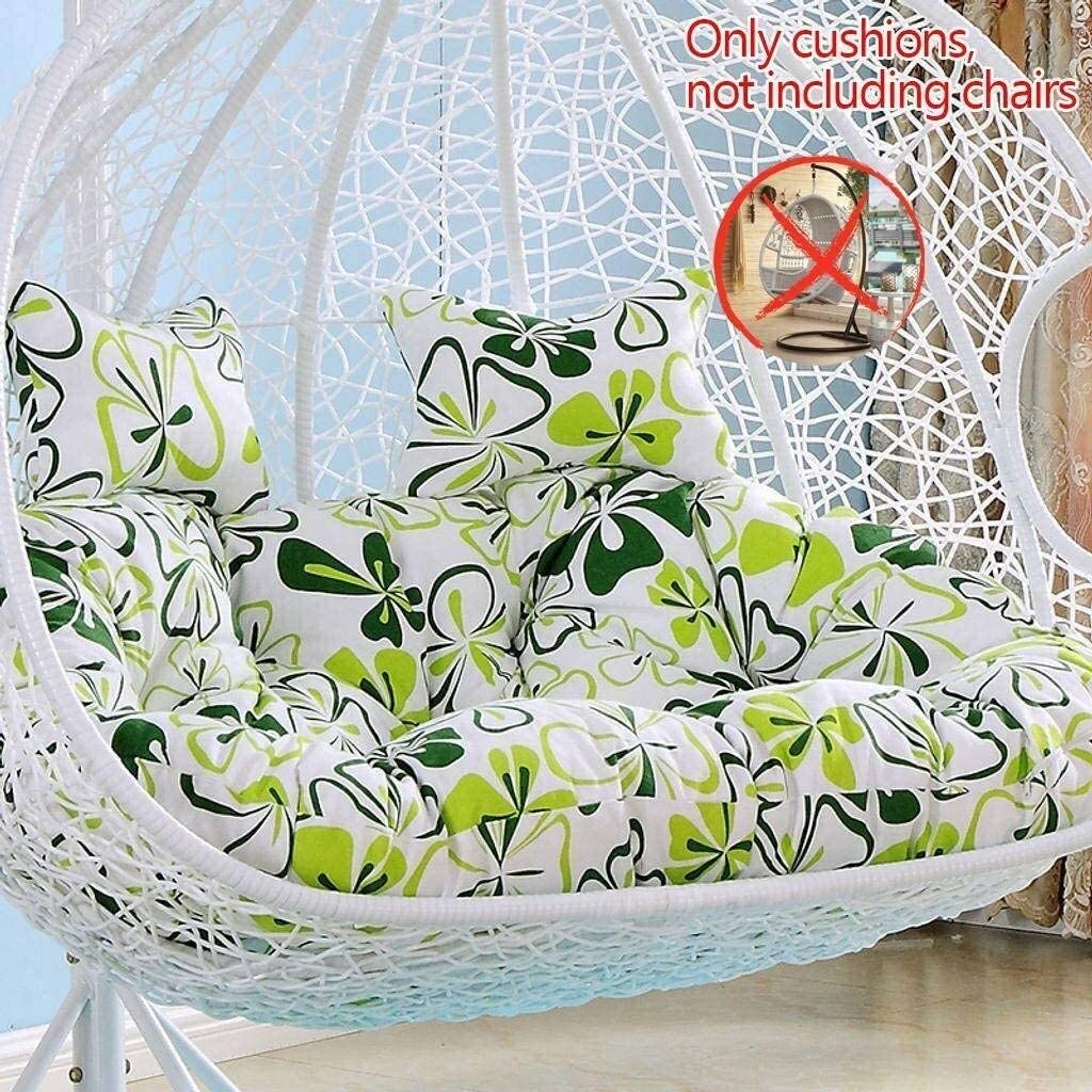 JYLJL Double Cotton Max 74% OFF Linen Hanging Egg Chair Cushio Hammock Lowest price challenge