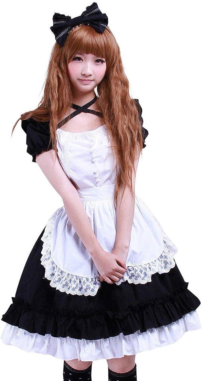 Cemavin Cotton Black and White Cosplay Lolita Dress
