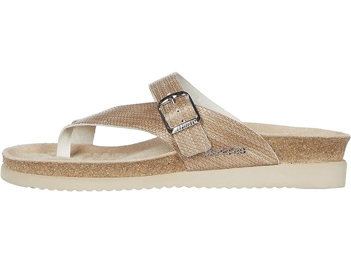 Mephisto Helen Light Sand Zambie Sandals