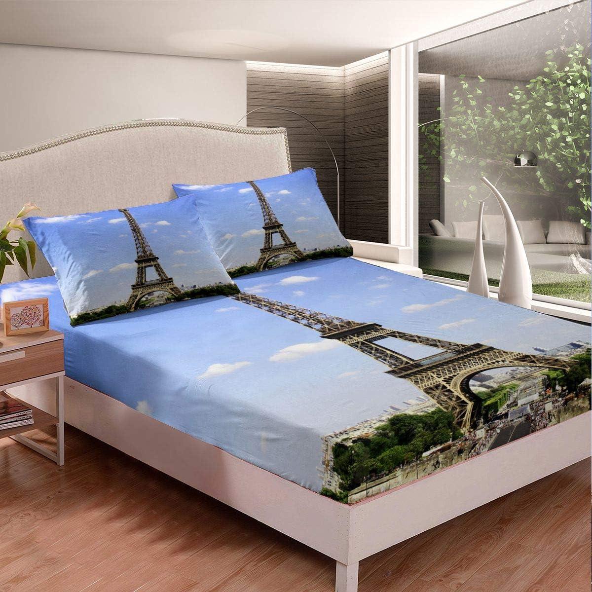 Superior Eiffel Tower Bed Sheet Set Chic Theme F Ranking TOP11 Bedding Paris Modern