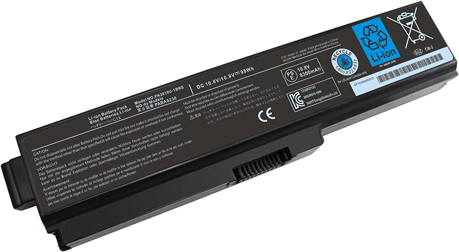 PA3819U-1BRS PA3817U-1BRS Laptop Battery Finally popular brand Compatible Special Campaign for Toshiba