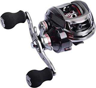 Goture Baitcasting Fishing Reel with 13+1 Shielded Bearing Low Profile Magnetic Brake Reel for Freshwater Saltwater 13.2LB Drag Carp Bass Crappie Catfish Walleye Trout
