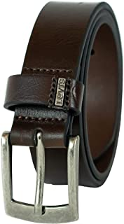 Levi`s Boys` Big Kids Belt-School Casual for Jeans Classic Strap and Single Prong Buckle