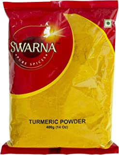 Swarna Pure Spices Turmeric Haldi Powder, 14oz (14oz)
