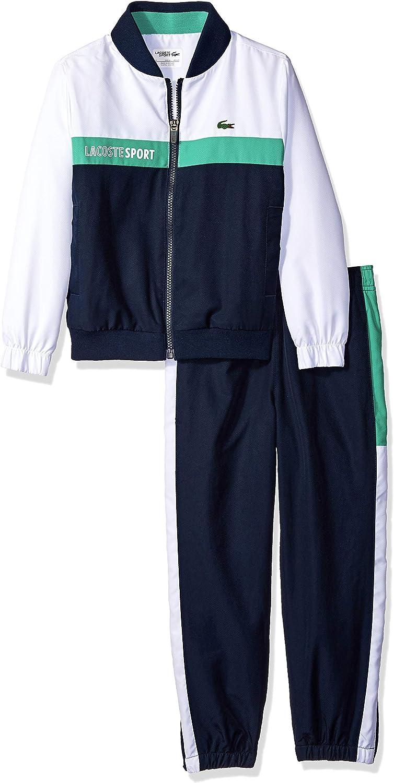 Lacoste Boys Sport Colorblock Taffeta Tracksuit
