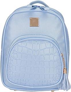mochilas pequeñas mujer piel azul marino