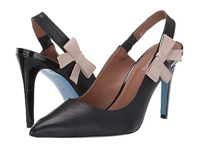 French Sole Nicky Hilton Brooke (Black Leather) Women
