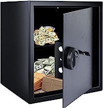 Safe Box Fingerprint Safes Fingerprint Recognition System Lock Safety Boxes Money Box Protect Money Jewelry Passports Ant...