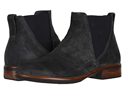 Naot Ruzgar (Oily Midnight Suede) Women