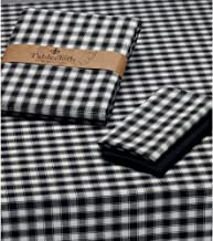 Design Imports French Check Tablecloth - 60 X 84