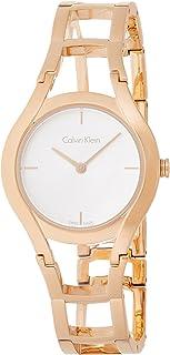 Calvin Klein Women's Analogue Quartz Watch with Stainless Steel Strap K6R23626