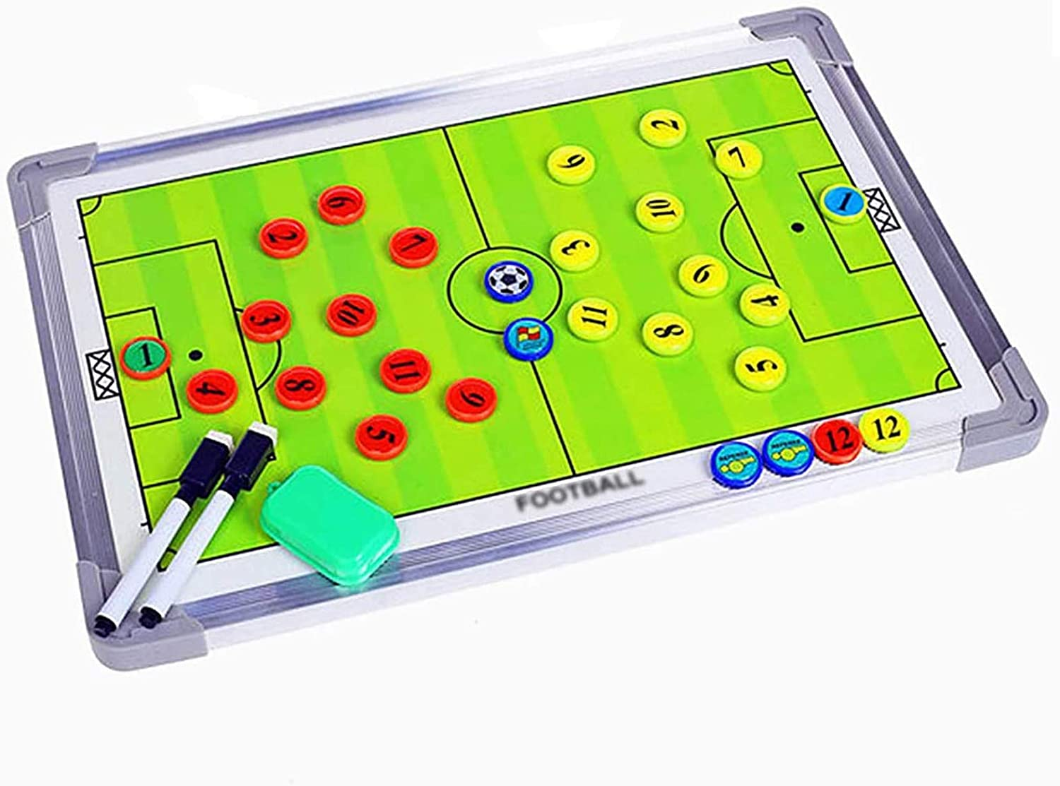 Boards Football Coaching Coaches, Two Sides with Full and Half C