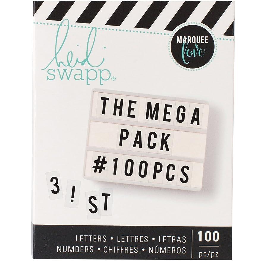 American Crafts Heidi Swapp Lightbox 100 Piece Mega Pack Black,
