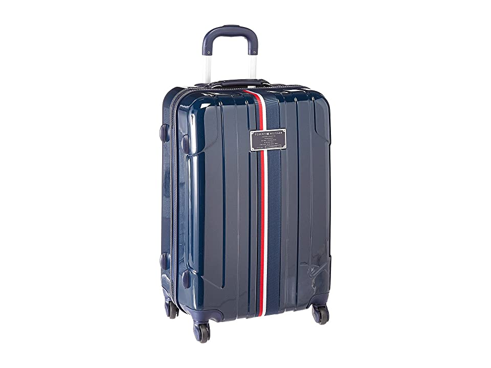 Tommy Hilfiger Lochwood Upright 24 Suitcase (Navy) Luggage