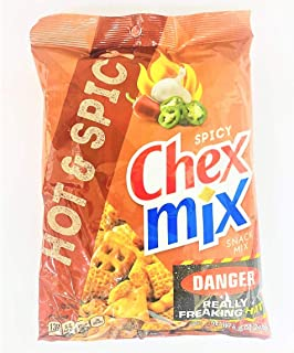 Chex Mix Spicy Snack Mix Hot Spicy, 248 gm