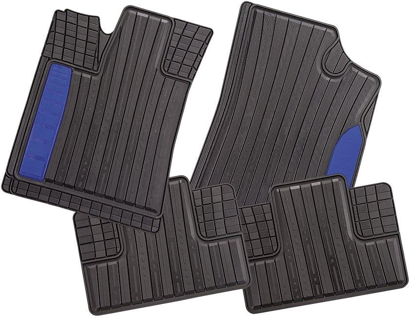 Azul CarFashion 262649 Juego de alfombrillas 2/piezas