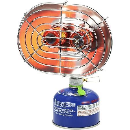 DUUTI キャンプヒーター、赤外線屋外暖房用ストーブ、ダブルバーナーストーブヒーター、ガスヒーター クロウ冬ダブル加熱炉ダブルバーナー加熱炉赤外線ヒーター屋外キャンプヒータ