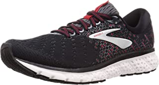Brooks Mens Glycerin 17 Running Shoe - Black/Ebony/Red - D - 10.5