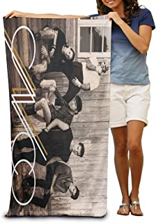 207c99c8ce Kina D Wilson Cnco Beach Towel Personalized Quick-Drying Super Absorbent  Lightweight Towel Gym Swimming