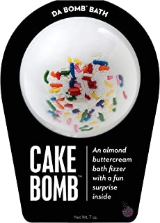 da Bomb Cake bomb, White, Almond Buttercream