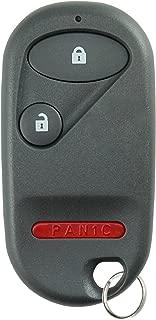 KeylessOption Keyless Entry Remote Control Car Key Fob Replacement for NHVWB1U521, NHVWB1U523