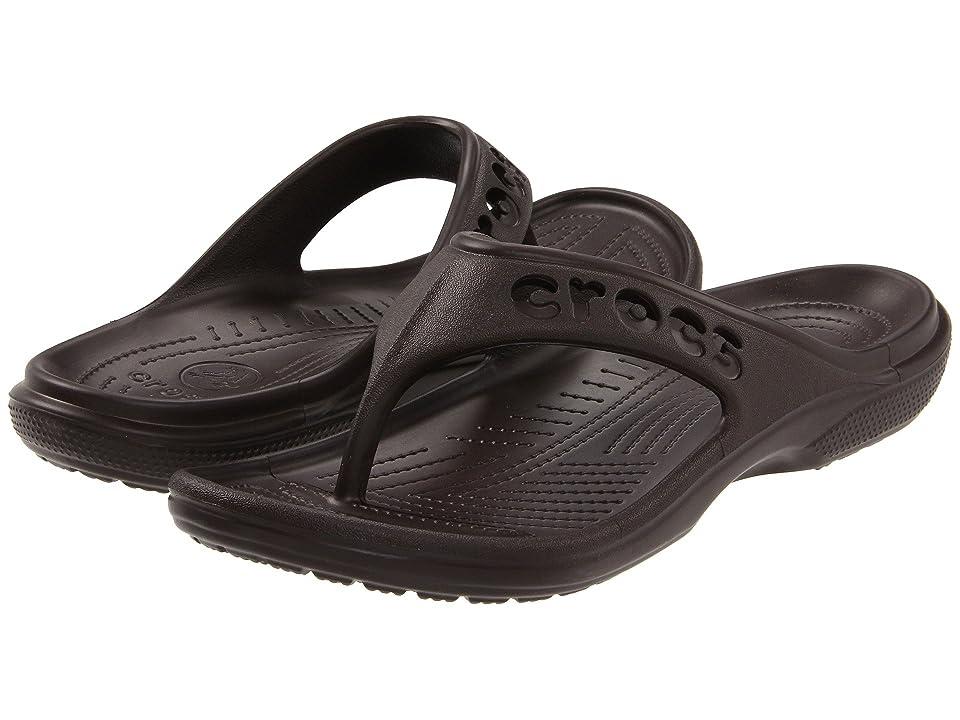 Crocs Baya Flip (Espresso) Sandals