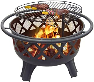 "Catalina Creations 29.5"" Crossfire Fire Pit 