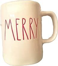 Rae Dunn Magenta Artisan Christmas Collection Mug MERRY