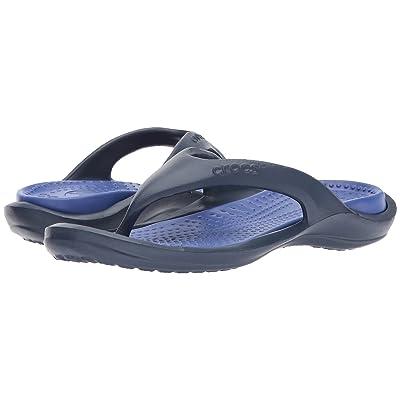 Crocs Athens (Navy/Cerulean Blue) Sandals