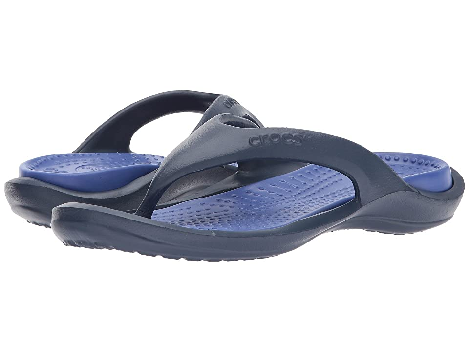 Crocs Athens (Navy/Cerulean Blue) Sandals