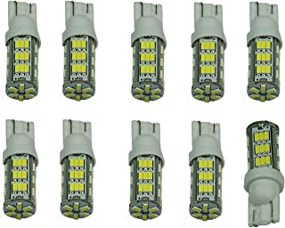 Cutequeen LED Car Lights Bulb 10PCS White T15 42-SMD 42smd 906 579 901 904 908 909 912 914 915 916 917 918 920 921 922 923 926 927 928 939 (pack of 10)