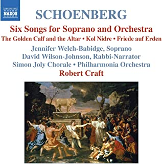 Six Songs for Soprano & Orchestra