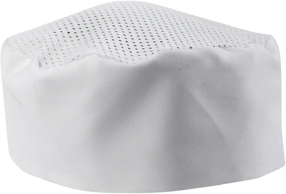 Sunrise Trust Kitchen Supply White Chef Hat One Fit Adjustable. - Size Direct stock discount