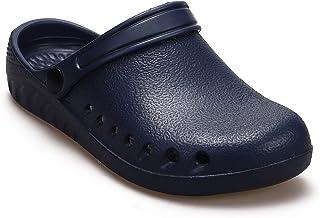 R-ISLAND Zoccoli Sanitari Calzature Infermieri Scarpe da Spiaggia Traspirante Antiscivolo Pantofole Ciabatte Giardino Inte...