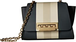Eartha Mini Chain Crossbody Racing Stripe