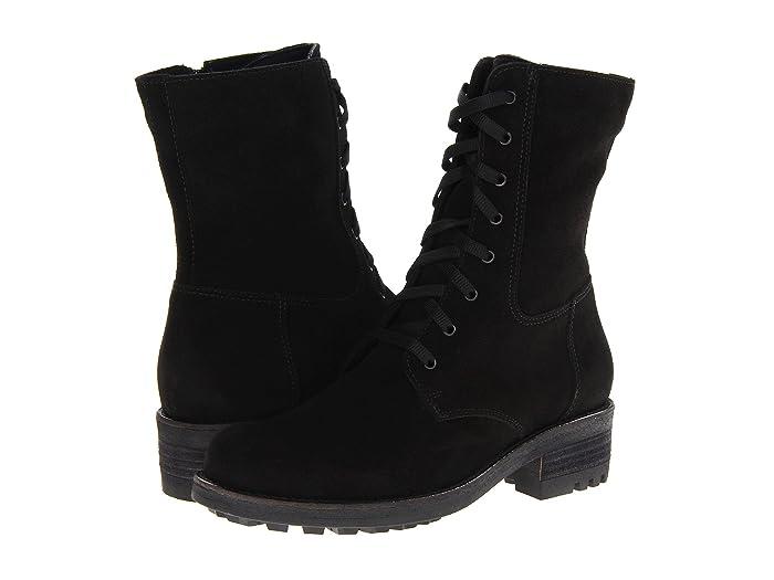 La Canadienne  Carolina (Black Suede) Womens Dress Boots